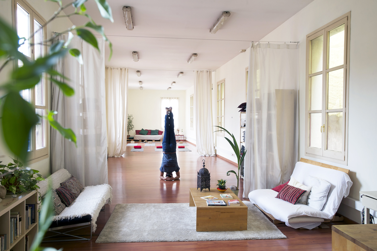alquiler de sala yoga barcelona